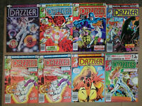 Dazzler #1,4,5,6,7,8,#9-New X-Men-Giant Size X-Men-X-Men 130-X-Men 94