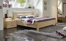 Moderne Aktuelles-Design Bettgestelle ohne Matratze aus MDF/Spanplatte-Holzoptik mit Zum Zusammenbauen