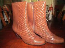 Everybody Cervo Caramel Color Womens Mid Calf Boots SZ 42 (EU) 11 (US)