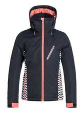 """vendita"" WOMANS Roxy Sassy Snowboard Ski Jacket extra-small - 0008 Nero"