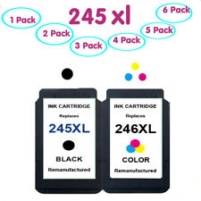 PG-245XL CL-246XL Black/Color Ink Cartridge for Canon PIXMA MG3020 MG2500 TR4522