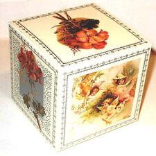 12 Valentine Gift Box es Cherub Angel Floral Mint/Sealed 4X4x4 Rare! Shackman