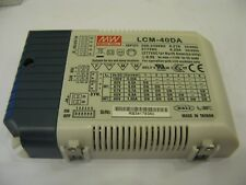 MEAN WELL Dimmable DALI LCM-40DA Power Supply Unit for LED Diodes 42W 240V #KV