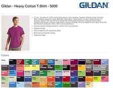 40 Gildan Heavy Cotton T-Shirt Wholesale Bulk Lot ok mix 2XL 3XL 4XL 5XL Colors