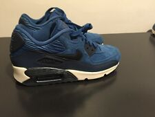 Nike Air Max 90 womens Shoes Size 7 768887-401 BLUE METALLIC ARMORY NAVY