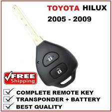 Remote Car Key Suitable for Toyota Hilux or Yaris 2005 2006 2007 2008 2009 4D-67
