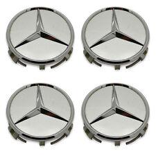 SET OF 4 - Benz 190 260 300 400 500 600 E C Cl S Class Wheel Hubcap Center Cap