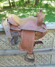 """Pre-owned Youth/pony Western saddle 12"""" inch seat"""