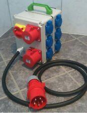Stromverteiler Steckdosen Box stromi17  611 GE6B mit Hauptschalter zum absperren