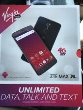 """ZTE Max XL 6"""" Android 16GB LTE Smartphone - Virgin Mobile - New"""