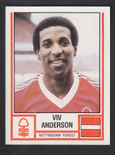 Panini - Football 81 - # 248 Viv Anderson - Nottingham Forest