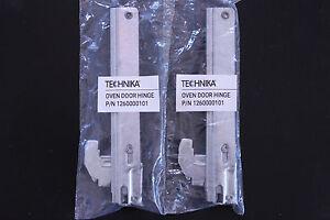 1260000095 - TECHNIKA OVEN DOOR HINGES PAIR SAME AS 1260000101 OVEN HINGES