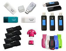PENDRIVE 8 16 32 64 128 GB - MEMORIA USB 2.0 3.0 - TOSHIBA KINGSTON SANDISK PNY