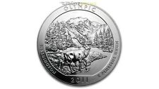 America the Beautiful ATB Olympic National Park Washington 5 oz Silber USA 2011