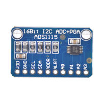 16 Bit I2C ADS1115 Module ADC 4 channel with PGA for Arduino Raspberry Lp