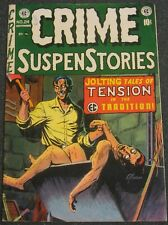 CRIME SUSPENSTORIES #24 EC COMICS Evans Cover 1954 Pre-Code Horror CGC it! NICE!