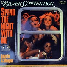 "7"" Silver Convention spend the night with me Ramona Wulf Jerry Rix Jupiter 1978"