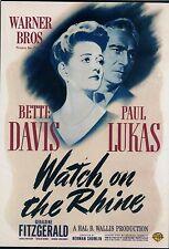 Bette Davis - Watch on the Rhine  (Slim Box)   DVD