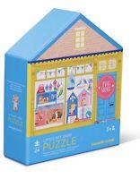 Crocodile Creek Puzzle Doppelseitig TIGER 24 TLG Kinderpuzzle Spielzeug Kinder