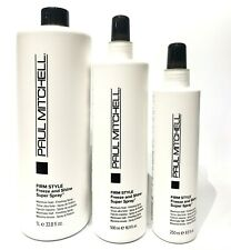 Paul Mitchell Firm Style Freeze and Shine Super Spray - Choose Your Size