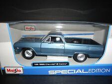 Maisto Chevrolet El Camino 1965 Metallic Blue 1/25