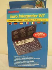 Franklin Euro Interpreter W7 - Tre-400 - 7 languages, with data bank, Tested