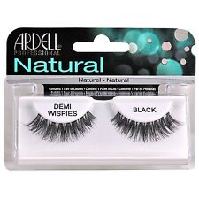 Ardell Naturals Eyelashes False Faux Lash Cosmetics Salon Demi Wispies Black