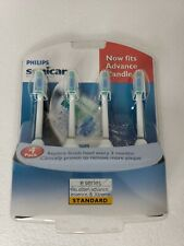 Philips Sonicare 4 Pack Replacement toothbrush head  Standard E Series
