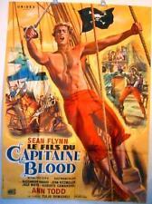 AFFICHE CINEMA film movie SEAN FLYNN pirate LE FILS DU CAPITAINE BLOOD 120x160