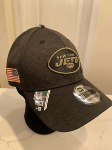 NY Jets Cap New Era Salute to Service size Large - XL fitted