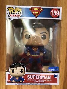 "*IN HAND* Funko Pop DC Superman 10 Inch 10"" Walmart Exclusive  Ships Quick"