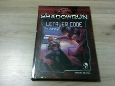 Shadowrun 5. Edition Letaler Code Regelerweiterung HC Pegasus 2018 OVP Neu