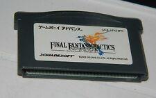 Final Fantasy Tactics Advance for Game Boy Advance GBA Japan