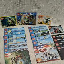 Lego Instruction Bundle 22 Manuals 60060 7751 4643 7590 60054 60055 8084 42031