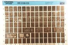 Grundig Service RR 3100 CD Radiorekorder Radio Cassette Microfiche 1994 K144