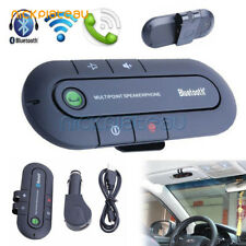Bluetooth Handsfree Speaker Car Kit Visor Clip for Mobile Smart Phone Wireless