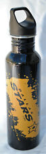 More details for dallas stars 26-ounce screw top stainless steel water bottle
