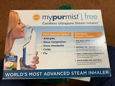 Mypurmist Free - Ultrapure Handheld Steam Inhaler Cordless NEW IN THE SEALED BOX