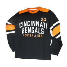 Nfl Cincinnati Bengals Football Long Sleeve Shirt, Small