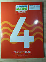 NEW Nelson Maths : Victorian Curriculum - Student Book 4 By Pauline Rogers