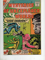 Mysteries of Unexplored Worlds #19 VF+ 8.5 DITKO ART 1960 Pre Amazing Fantasy 15