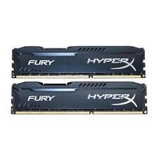 Kingston Hyper X Fury HX313C9FB/4 8GB 2X4GB DDR3 10600 1333MHZ  DIMM PC3 Memory