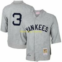 BABE RUTH 1929 New York NY YANKEES AUTHENTIC Mitchell & Ness Jersey Sz 48 XL