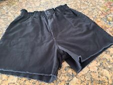 Women's Quicksilver elastic waist black shorts size M Great condition