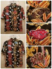 "New ListingAquarium of the Pacific Fish Hawaiian Shirt Size Small pit 2 pit 22"" Turtles"