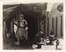 THE SHEIK (1921) Rudolph Valentino as Sheik Ahmed Ben Hassan At His Desert Oasis