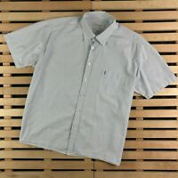 Mens Shirt Yves Saint Laurent Vintage YSL Short Sleeve Size XXL 2XL