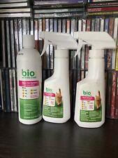 Lot 3 | Bio Spot Active Care Cat Flea & Tick Shampoo, 2x Flea & Tick Spray