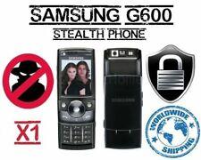 SAMSUNG G600 STEALTH PHONE-UNLOCKED,ANTI-TAP, AUTO IMEI CHANGE,ANTI INTERCEPTION