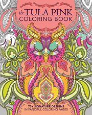 Tula Pink Coloring Book $16 each FREE US SHIP